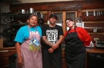 I-Collective, Twila Cassadore, Karlos Baca and Kristina Stanley, at the Food Justice Symposium, April 28.
