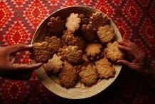 Indian cookies at Jemez.