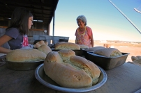 Marlene of Payway's Zuni Bread.